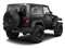 Black Clear Coat 2011 Jeep Wrangler Pictures Wrangler Utility 2D Rubicon 4WD photos rear view