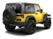 Detonator Yellow Clear Coat 2011 Jeep Wrangler Pictures Wrangler Utility 2D Rubicon 4WD photos rear view
