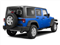 Cosmos Blue 2011 Jeep Wrangler Unlimited Pictures Wrangler Unlimited Utility 4D Unlimited Sport 4WD photos rear view