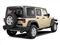 Sahara Tan Clear Coat 2011 Jeep Wrangler Unlimited Pictures Wrangler Unlimited Utility 4D Unlimited Sahara 4WD photos rear view