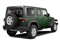 Natural Green Pearl 2011 Jeep Wrangler Unlimited Pictures Wrangler Unlimited Utility 4D Unlimited Sport 4WD photos rear view