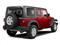 Deep Cherry Red Crystal Pearl Coat 2011 Jeep Wrangler Unlimited Pictures Wrangler Unlimited Utility 4D Unlimited Sport 4WD photos rear view