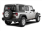 Bright Silver Metallic 2011 Jeep Wrangler Unlimited Pictures Wrangler Unlimited Utility 4D Unlimited Sport 4WD photos rear view