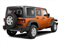 Mango Tango Pearl 2011 Jeep Wrangler Unlimited Pictures Wrangler Unlimited Utility 4D Unlimited Sahara 4WD photos rear view