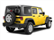 Detonator Yellow Clear Coat 2011 Jeep Wrangler Unlimited Pictures Wrangler Unlimited Utility 4D Unlimited Sahara 4WD photos rear view