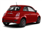 Rosso (Red) 2012 FIAT 500 Pictures 500 Hatchback 3D Sport photos rear view
