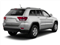 Bright Silver Metallic 2012 Jeep Grand Cherokee Pictures Grand Cherokee Utility 4D Overland 4WD photos rear view