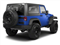 Cosmos Blue 2012 Jeep Wrangler Pictures Wrangler Utility 2D Sport 4WD photos rear view