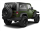 Natural Green Pearl 2012 Jeep Wrangler Pictures Wrangler Utility 2D Sport 4WD photos rear view