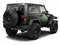 Black Forest Green Pearl 2012 Jeep Wrangler Pictures Wrangler Utility 2D Sport 4WD photos rear view