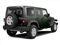 Black Forest Green Pearl 2012 Jeep Wrangler Unlimited Pictures Wrangler Unlimited Utility 4D Unlimited Sport 4WD photos rear view
