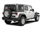 Bright White 2012 Jeep Wrangler Unlimited Pictures Wrangler Unlimited Utility 4D Unlimited Sport 4WD photos rear view