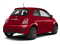 Rosso (Red) 2013 FIAT 500 Pictures 500 Hatchback 3D Pop I4 photos rear view