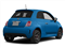 Verde Azzurro (Blue-Green) 2013 FIAT 500 Pictures 500 Hatchback 3D I4 Turbo photos rear view