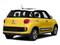 Giallo (Yellow) 2014 FIAT 500L Pictures 500L Hatchback 5D L Trekking I4 Turbo photos rear view