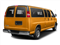 Wheatland Yellow 2015 Chevrolet Express Passenger Pictures Express Passenger Express Van LS 135 photos rear view