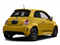 Giallo Moderna Perla (Pearl Yellow TC) 2016 FIAT 500 Pictures 500 Hatchback 3D I4 Turbo photos rear view