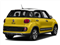 Giallo (Yellow) 2016 FIAT 500L Pictures 500L Hatchback 5D L Trekking I4 Turbo photos rear view