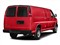 Red Hot 2017 Chevrolet Express Cargo Van Pictures Express Cargo Van RWD 3500 155 photos rear view