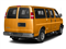 Wheatland Yellow 2017 Chevrolet Express Passenger Pictures Express Passenger RWD 2500 135 LS photos rear view