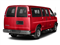 Red Hot 2017 Chevrolet Express Passenger Pictures Express Passenger RWD 2500 135 LS photos rear view