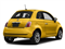 Giallo Moderna Perla (Pearl Yellow Tri-Coat) 2017 FIAT 500 Pictures 500 Pop Hatch photos rear view