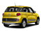 Giallo (Yellow) 2017 FIAT 500L Pictures 500L Trekking Hatch photos rear view