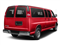 Red Hot 2018 Chevrolet Express Passenger Pictures Express Passenger RWD 3500 155 LT photos rear view