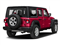 Firecracker Red Clearcoat 2018 Jeep Wrangler Unlimited Pictures Wrangler Unlimited Sport 4x4 photos rear view