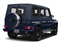 designo Manufaktur Midnight Blue 2018 Mercedes-Benz G-Class Pictures G-Class AMG G 65 4MATIC SUV photos rear view