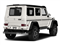 designo Manufaktur Mystic White 2018 Mercedes-Benz G-Class Pictures G-Class G 550 4x4 Squared SUV photos rear view