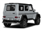 Diamond Silver Metallic 2018 Mercedes-Benz G-Class Pictures G-Class G 550 4x4 Squared SUV photos rear view