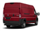 Flame Red Clearcoat 2018 Ram Truck ProMaster Cargo Van Pictures ProMaster Cargo Van 3500 High Roof 159 WB photos rear view