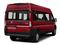Flame Red Clearcoat 2018 Ram Truck ProMaster Window Van Pictures ProMaster Window Van 2500 High Roof 159 WB photos rear view