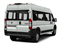 Bright White Clearcoat 2018 Ram Truck ProMaster Window Van Pictures ProMaster Window Van 2500 High Roof 159 WB photos rear view