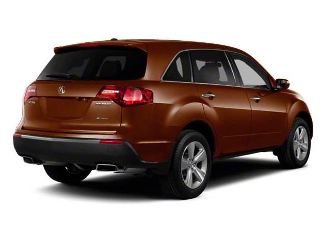 Ionized Bronze Metallic 2010 Acura MDX Pictures MDX Utility 4D Advance DVD AWD photos rear view