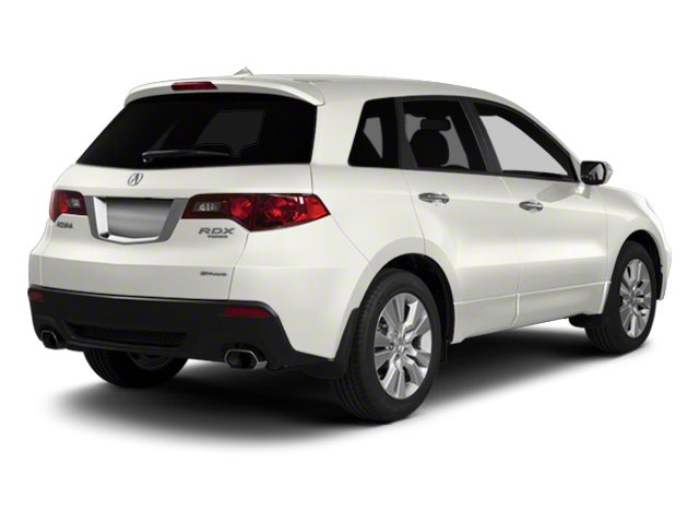 White Diamond Pearl 2010 Acura RDX Pictures RDX Utility 4D AWD photos rear view