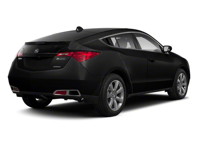 Crystal Black Pearl 2010 Acura ZDX Pictures ZDX Utility 4D AWD photos rear view