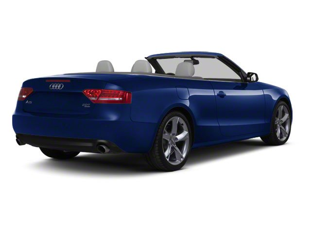 Deep Sea Blue Pearl 2010 Audi A5 Pictures A5 Convertible 2D Quattro Premium Plus photos rear view