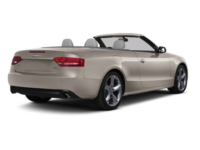 Arum Beige Metallic 2010 Audi A5 Pictures A5 Convertible 2D Quattro Premium Plus photos rear view