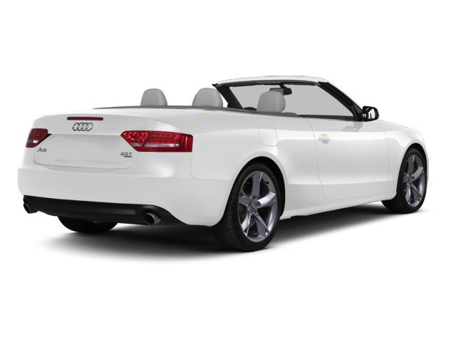 Ibis White 2010 Audi A5 Pictures A5 Convertible 2D Quattro Premium Plus photos rear view