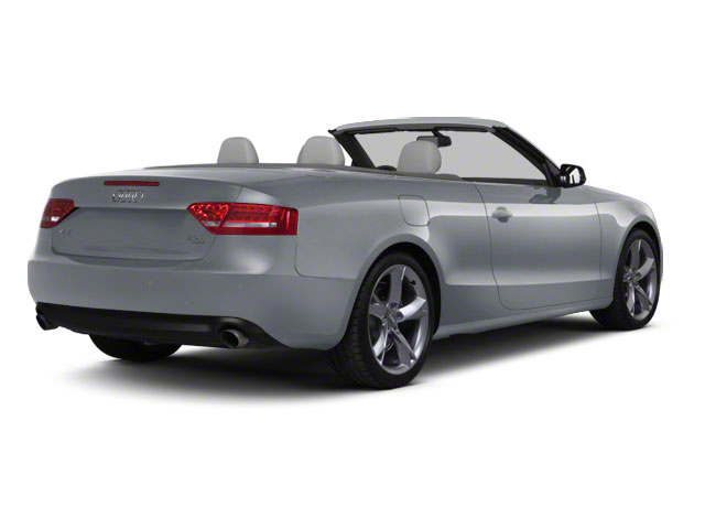 Meteor Gray Pearl 2010 Audi A5 Pictures A5 Convertible 2D Quattro Premium Plus photos rear view
