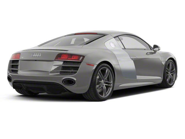 Daytona Gray Pearl With Quartz Gray Sideblades 2010 Audi R8 Pictures R8 2 Door Coupe Quattro 5.2l (manual) photos rear view