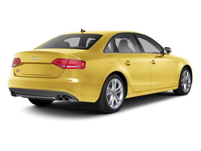 Imola Yellow 2010 Audi S4 Pictures S4 Sedan 4D Quattro photos rear view