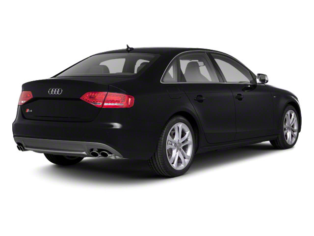 Brilliant Black 2010 Audi S4 Pictures S4 Sedan 4D Quattro photos rear view