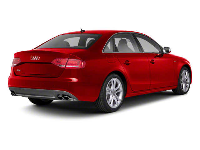 Brilliant Red 2010 Audi S4 Pictures S4 Sedan 4D Quattro photos rear view