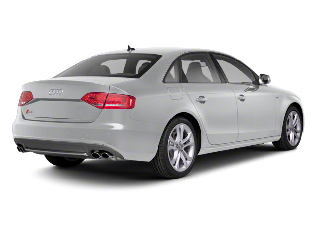 Ice Silver Metallic 2010 Audi S4 Pictures S4 Sedan 4D Quattro photos rear view