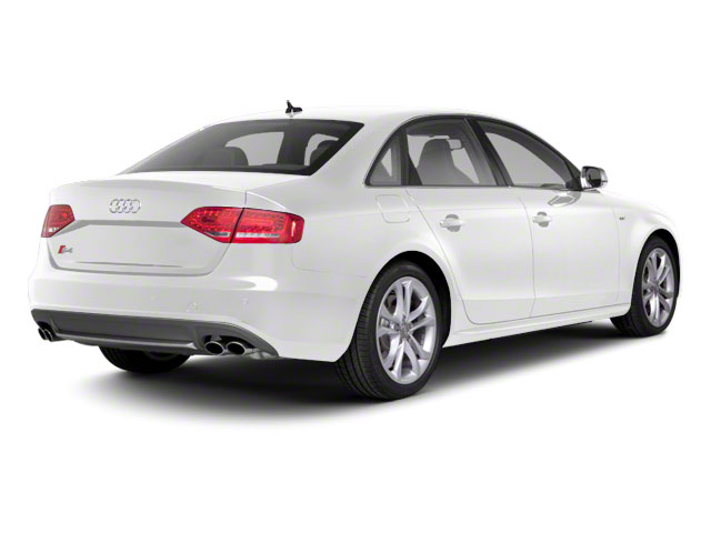 Ibis White 2010 Audi S4 Pictures S4 Sedan 4D Quattro photos rear view