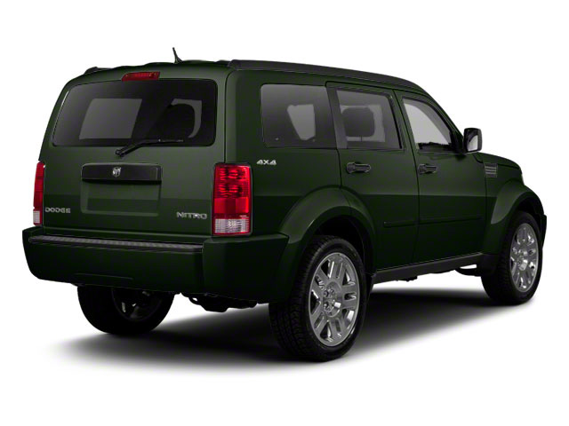 Natural Green Pearl 2010 Dodge Nitro Pictures Nitro Utility 4D SE 2WD photos rear view