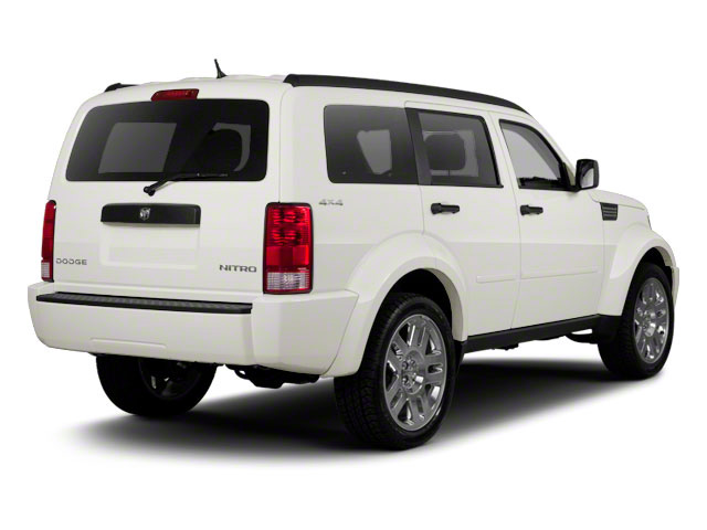 Stone White 2010 Dodge Nitro Pictures Nitro Utility 4D SE 2WD photos rear view